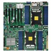 Материнская плата SuperMicro MBD-X11DPI-NT-O Soc-3647 iC622 eATX 16xDDR4 10xSATA3 SATA RAID iX722/X557 2х10GgbEth Ret