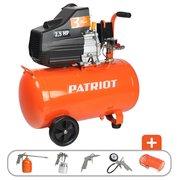 Компрессор поршневой Patriot Euro 50-260K оранжевый