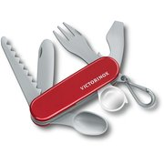 Брелок Victorinox Pocket Knife Toy (9.6092.1) красный/серый пластик д.113мм ш.29мм (доп.ф.:нож) карт.кор.