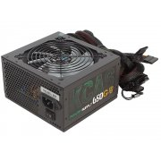 Блок питания Aerocool KCAS-650G 80+ gold ATX 650W (24+4+4pin) APFC 120mm fan color LED 7xSata RTL