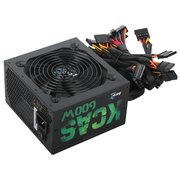 Блок питания Aerocool KCAS-600W Plus 80+ bronze ATX 600W (24+4+4pin) APFC 120mm fan 7xSata RTL