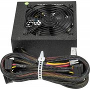 Блок питания Accord ACC-650W-80BR 80+ bronze ATX 650W (24+4+4pin) 120mm fan 6xSata RTL