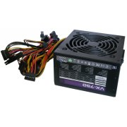 Блок питания Aerocool VX Plus 750 ATX 750W (24+4+4pin) APFC 120mm fan 4xSata RTL